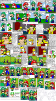 super mario bros page 40 by Nintendrawer