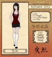 Republic City: Ty Jin by Cour-cour
