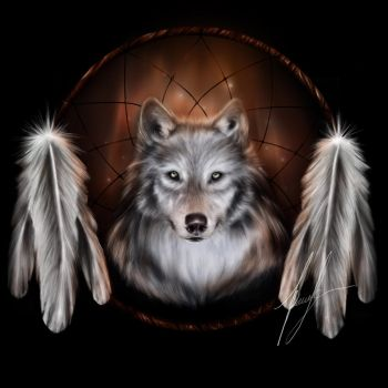 The Spirit of the Wolf (finished) by Rubydeathgurl
