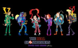 Ghostbusters: Power Pack Heroes by tunasammiches