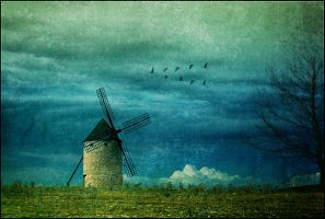 Windmill of my Mind by violscraper