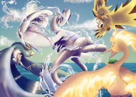 Epic Battle by lalindaaa