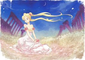 Princess Serenity by wickedalucard