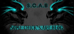 S.C.A.B. banner by Corvaeus