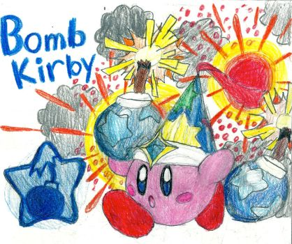 Bomb Kirby by stephan444