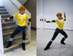 my april o'neil cosplay by clefchan