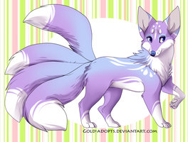 kitsune adopt open by gold-adopts