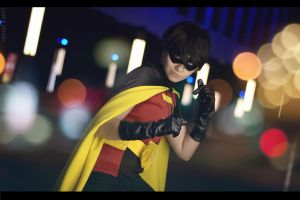 Young Justice  - Robin by Lust-ik