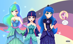 Dresses of Princesses by AmberLumines