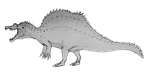 Spinosaurus aegyptiacus 2014 WIP by ZeWqt