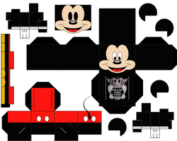 Mickey Colored by hollowkingking