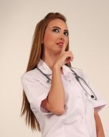 Nurse Model 3 by CananStock