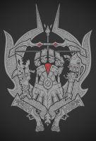 League of Legends Crest Tshirt Design by MoulinBleu