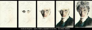Harry Potter CoS - WIP by thewholehorizon