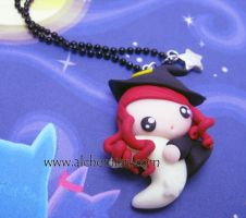 My little red witch by AlchemianShop
