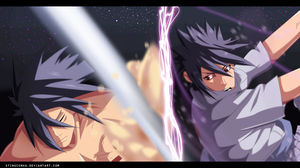 Naruto 657 - Madara vs Sasuke by StingCunha