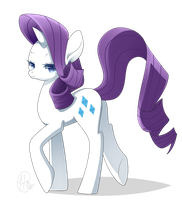 Mlp - Rarity by haydee