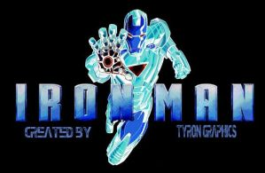 glow in the dark ironman by mademyown