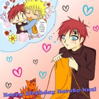 Gaara's Gift For Naruto by SeidooReiki