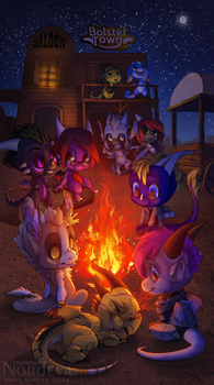 Bolster Town: The Campfire by Nordeva