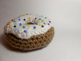 Donut Pincushion. by Mahala-Ann