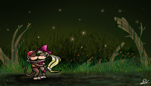 Calling in the Swamp tonight by Ribbedebie