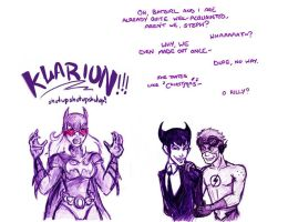 Young Justice: Drive Me Bats by Mad-Hatter-LCarol