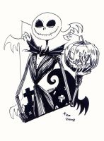 Jack Skellington by Av3r