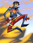 Superboy Titans Style by dyemooch