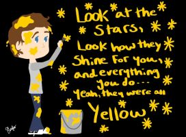 Coldplay- Yellow by Lenmccarristarr