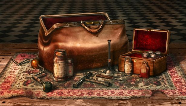 Victorian Doctor's Bag by jordangrimmer