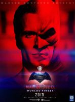 Man of steel:Worlds Finest (Superman and Batman) by Sumitsjc