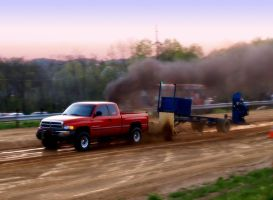 Dodge Ram in Motion by MissMinded