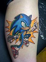 Sonic by BodyArtbyElf