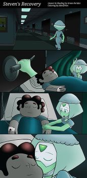 Comic Collaboration - Steven's Recovery by Tanza-Night