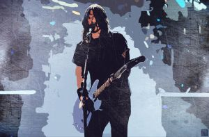 Dave Grohl Wallpaper by nicollearl