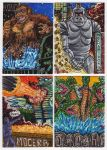 2012 Kaiju Kards Set 5 by fbwash