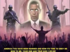 Antichrist Beast of the Revelation Barack Obama by myjavier007