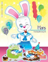 Hans The Bunny Kid - Cakes by bunnyfriend