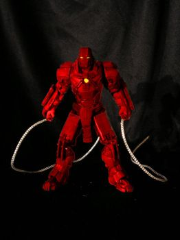 Iron Man 2 Crimson Dynamo Toy by daiohnysis