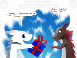 Dragon Bros' Xmas by Mike-Dragon