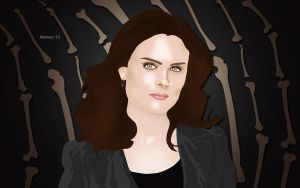 Dr. Temperance Brennan by overtherhone