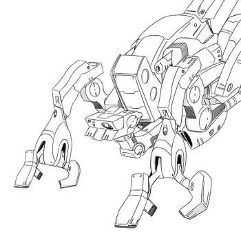 March of Robots 2016 Day 5 (The adjuster) by NoriToy