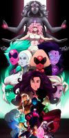 Steven universe - ALL TOGETHER + Speedpainting by NexSix