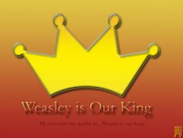 Gryffindor Weasley Is Our King by JennaveveRayenstone