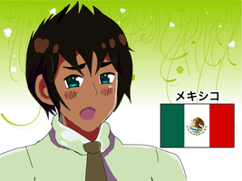 Mexico Hetalia APH Screenshot by RennTorakWolf