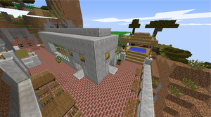 Top level Pool Grill and Jacuzzi Bar by WholeWheatKittyFeet