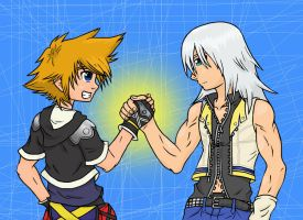KH- Forever Friends- Color 2 by Gkenzo