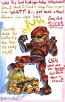 Red vs Blue: 'THE HOLE.' by Demyrie