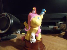 Fluttershy statuette finished by McMesser